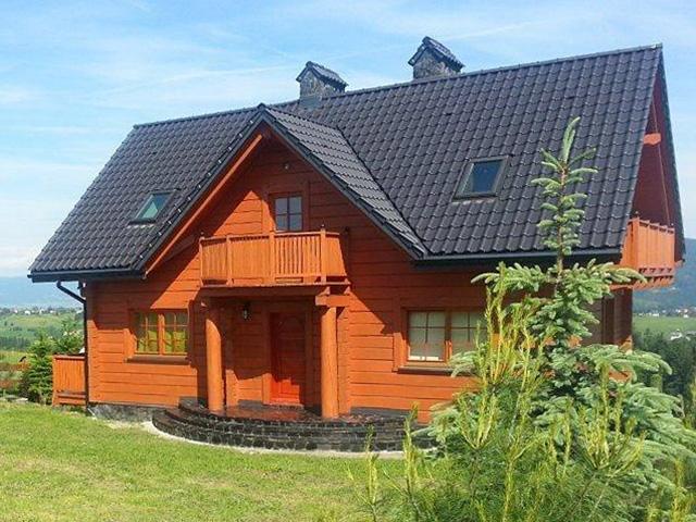 Die London Haus Zu Verkaufen 235 M2, Gebaut Auf Einem Grundstück Von 1 650  M2, Im Bereich Der Weichsel, In Dem Dorf Jaworzynka Nach Preis 1 299 000  Kaufen.